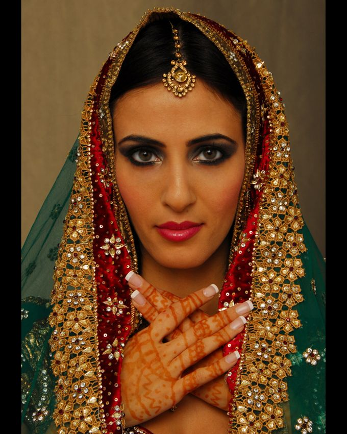 Indian Brides by Elza Finishya Makeup Artist - 008