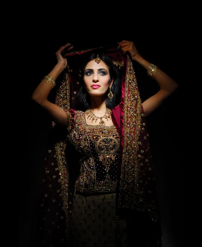 Indian Brides by Elza Finishya Makeup Artist - 001