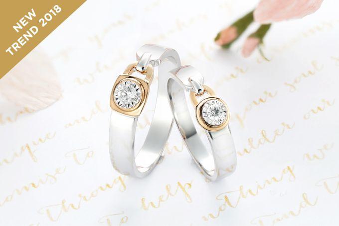 Wedding Ring Lovemetric Series by Adelle Jewellery - 001