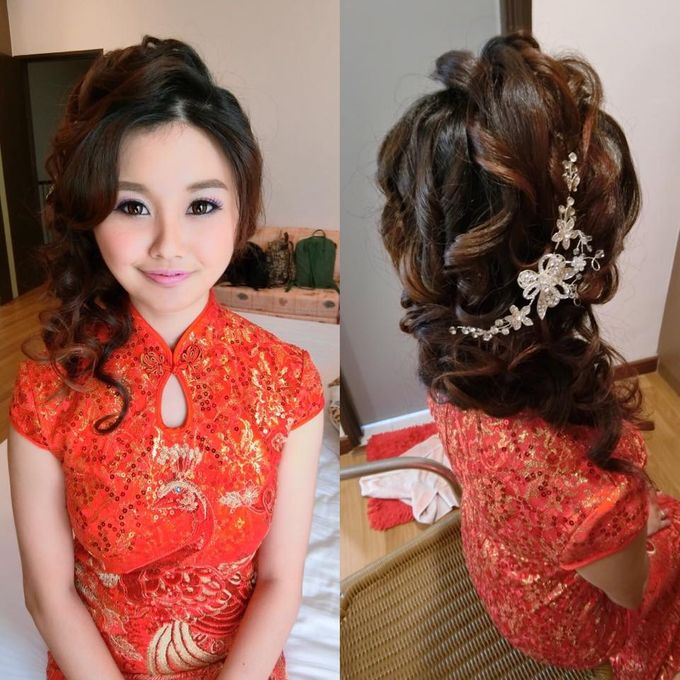 Wedding Day Look by Joan Tan - 011