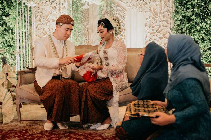 Panggih Ceremony of #BerKatNikah by ProjectDEA Wedding Planner - 010