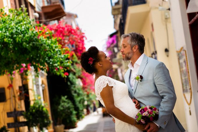 Civil Afro American wedding in Nafplio by MarrymeinGreece - 004