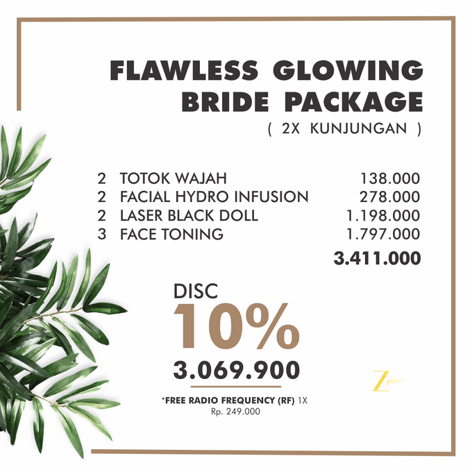 WEDDING PACKAGE by Z Glow Clinic - 001