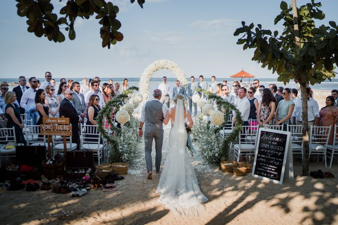 Elegant light blue beach wedding at Sofitel Bali by Silverdust Decoration - 007