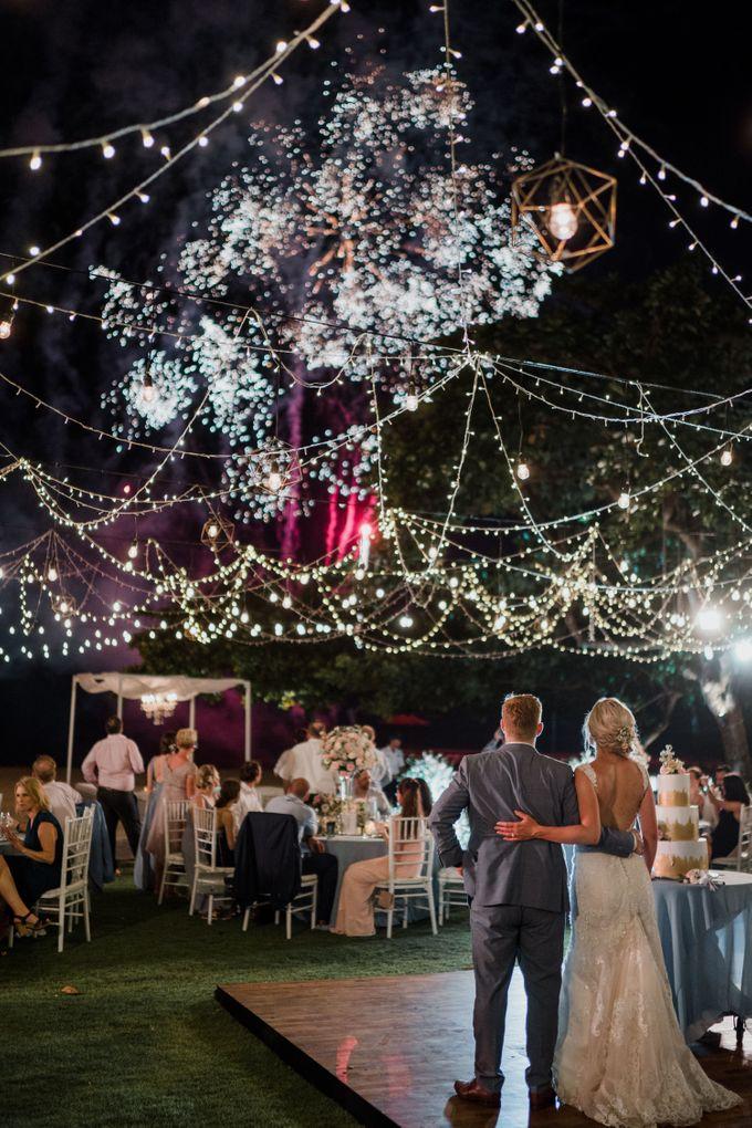 Elegant light blue beach wedding at Sofitel Bali by Silverdust Decoration - 023