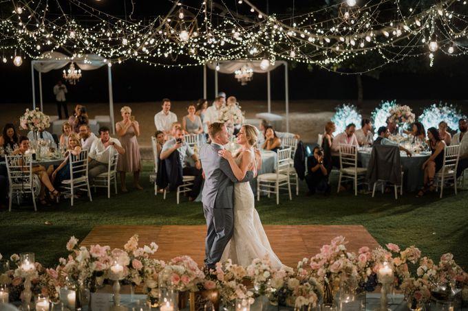 Elegant light blue beach wedding at Sofitel Bali by Silverdust Decoration - 024