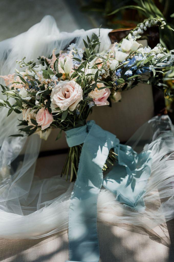 Elegant light blue beach wedding at Sofitel Bali by Silverdust Decoration - 025