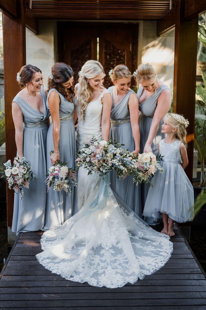 Elegant light blue beach wedding at Sofitel Bali by Silverdust Decoration - 002
