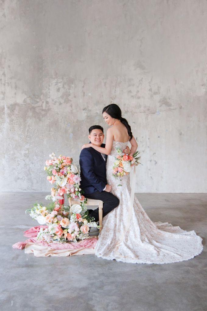 Korean style prewedding of Devilia & Alex by The Flower Philosophy - 002