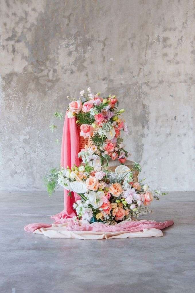 Korean style prewedding of Devilia & Alex by The Flower Philosophy - 006