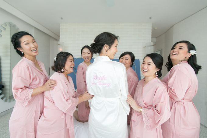 JEEYOUNG & KENN  A blooming blush pink Love Story by Wedding Boutique Phuket - 005