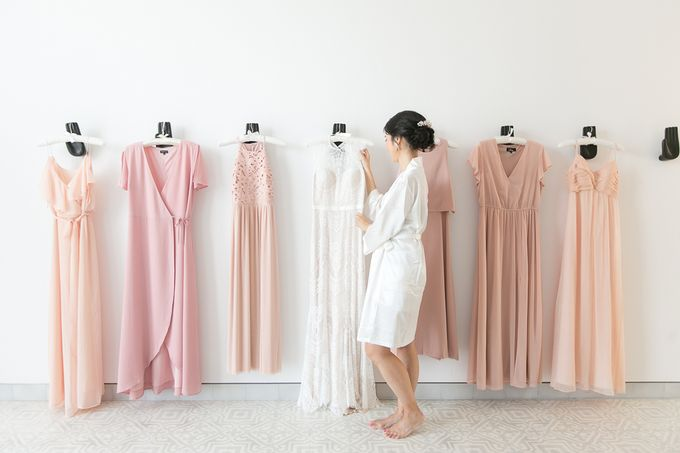 JEEYOUNG & KENN  A blooming blush pink Love Story by Wedding Boutique Phuket - 007