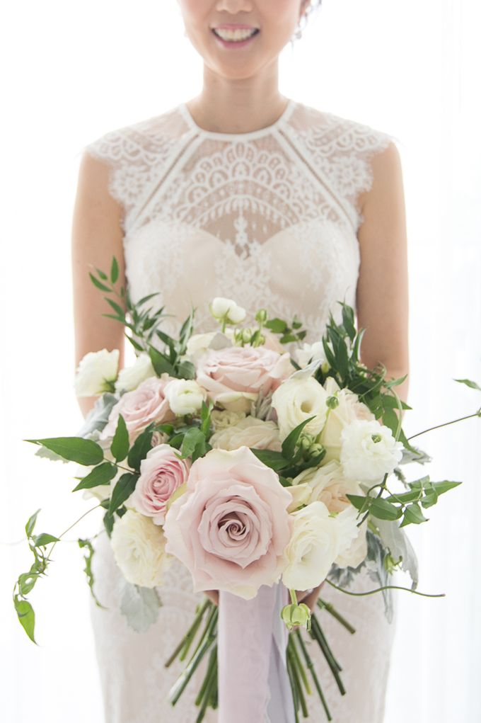 A blooming blush pink Love Story by Wedding Boutique Phuket - 004