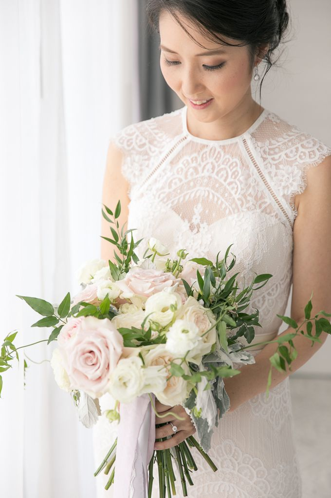 JEEYOUNG & KENN  A blooming blush pink Love Story by Wedding Boutique Phuket - 011