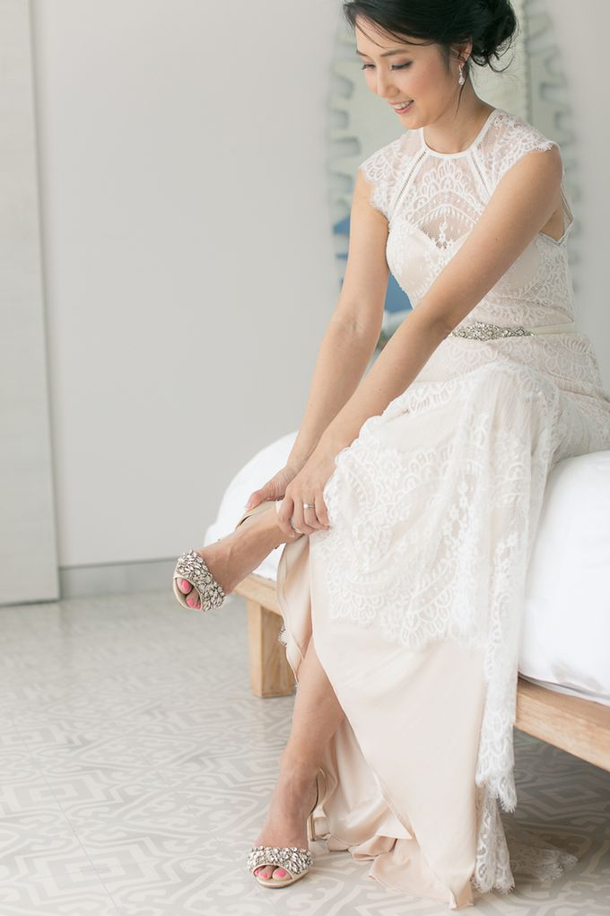 A blooming blush pink Love Story by Wedding Boutique Phuket - 003
