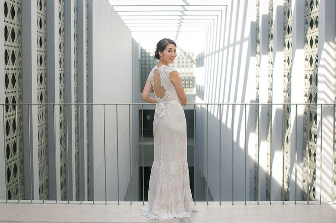 JEEYOUNG & KENN  A blooming blush pink Love Story by Wedding Boutique Phuket - 012