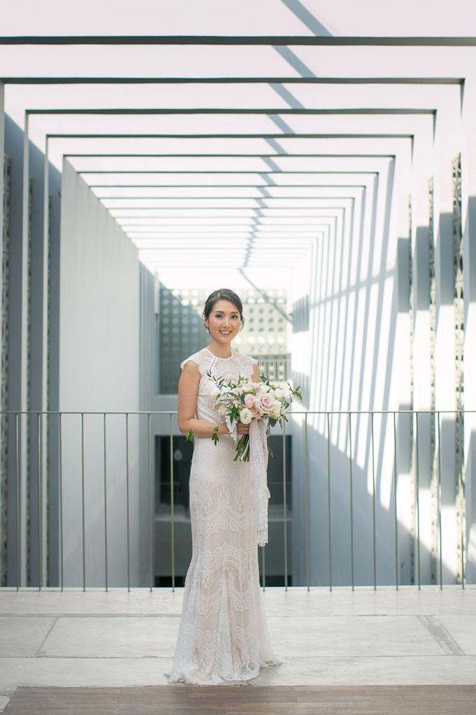 A blooming blush pink Love Story by Wedding Boutique Phuket - 005