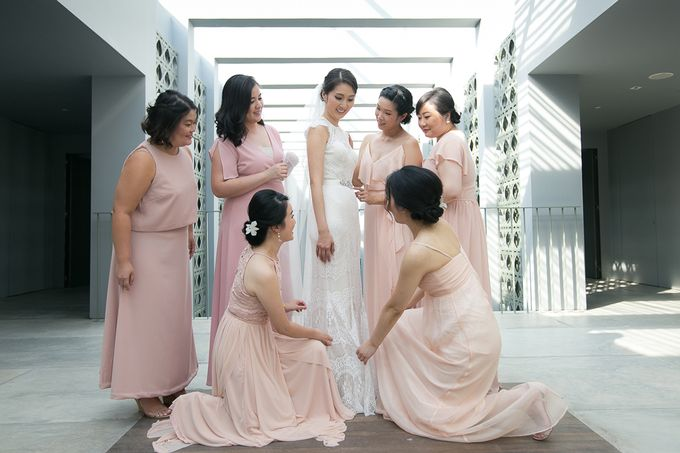 JEEYOUNG & KENN  A blooming blush pink Love Story by Wedding Boutique Phuket - 013