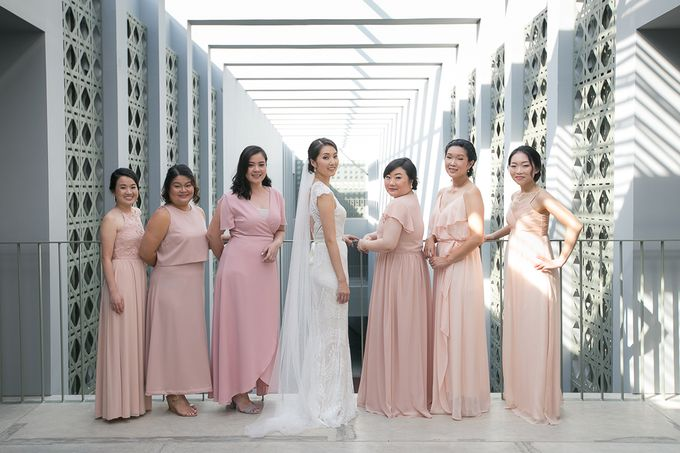 A blooming blush pink Love Story by Wedding Boutique Phuket - 002
