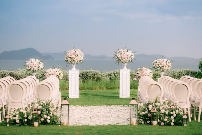 JEEYOUNG & KENN  A blooming blush pink Love Story by Wedding Boutique Phuket - 025
