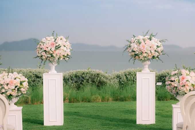 A blooming blush pink Love Story by Wedding Boutique Phuket - 012