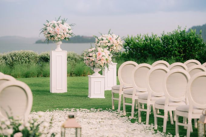 A blooming blush pink Love Story by Wedding Boutique Phuket - 011