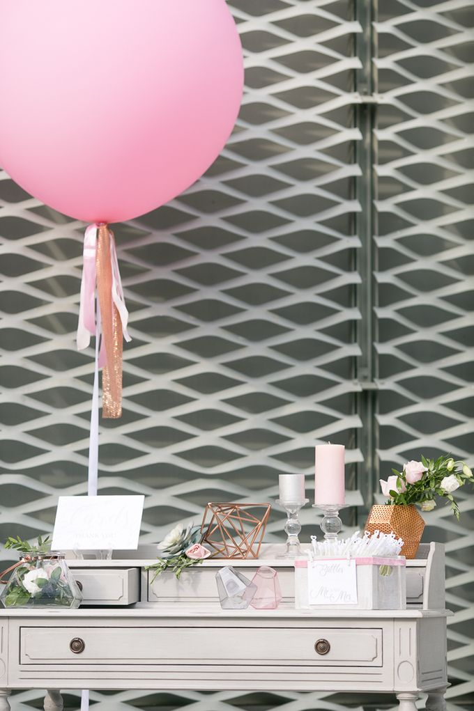 A blooming blush pink Love Story by Wedding Boutique Phuket - 013