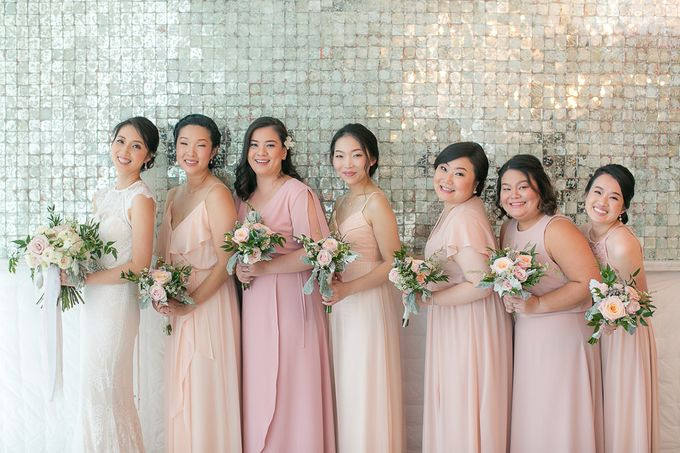 A blooming blush pink Love Story by Wedding Boutique Phuket - 015