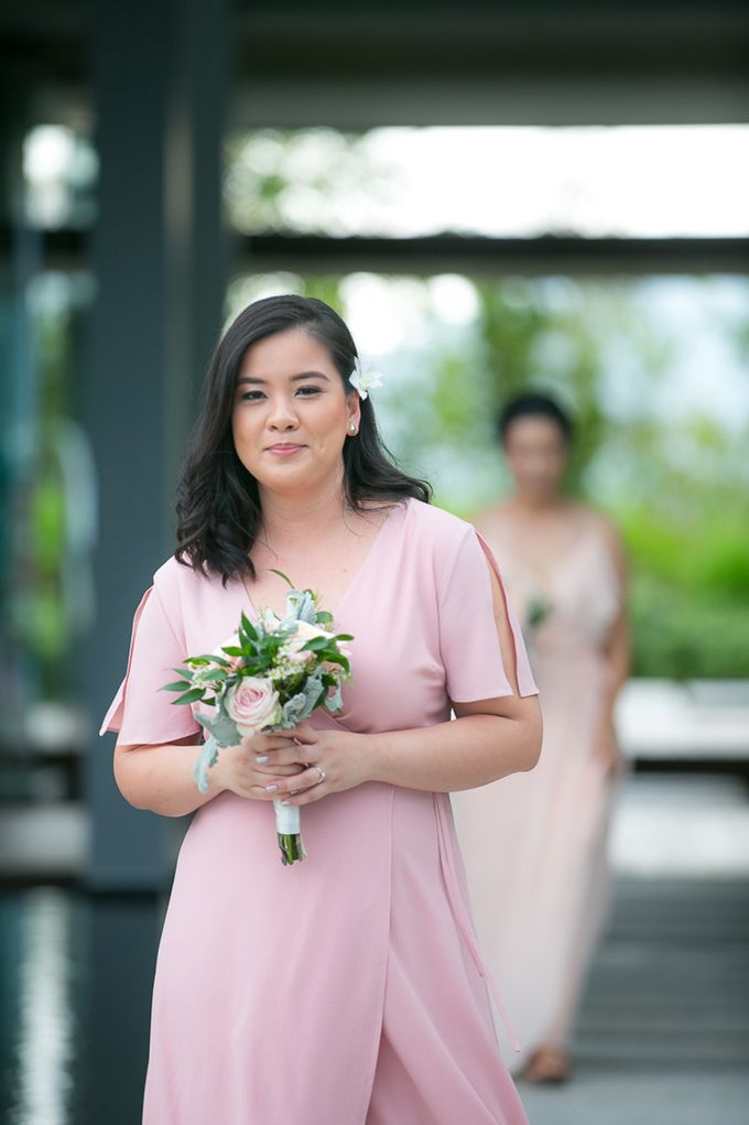 JEEYOUNG & KENN  A blooming blush pink Love Story by Wedding Boutique Phuket - 032