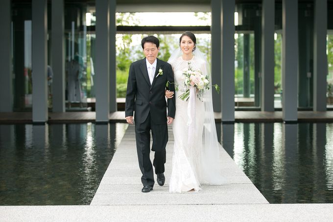 JEEYOUNG & KENN  A blooming blush pink Love Story by Wedding Boutique Phuket - 033
