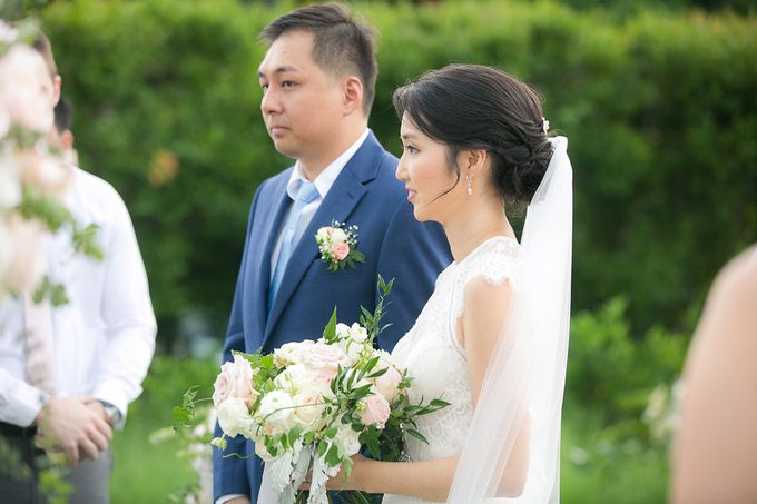 JEEYOUNG & KENN  A blooming blush pink Love Story by Wedding Boutique Phuket - 034