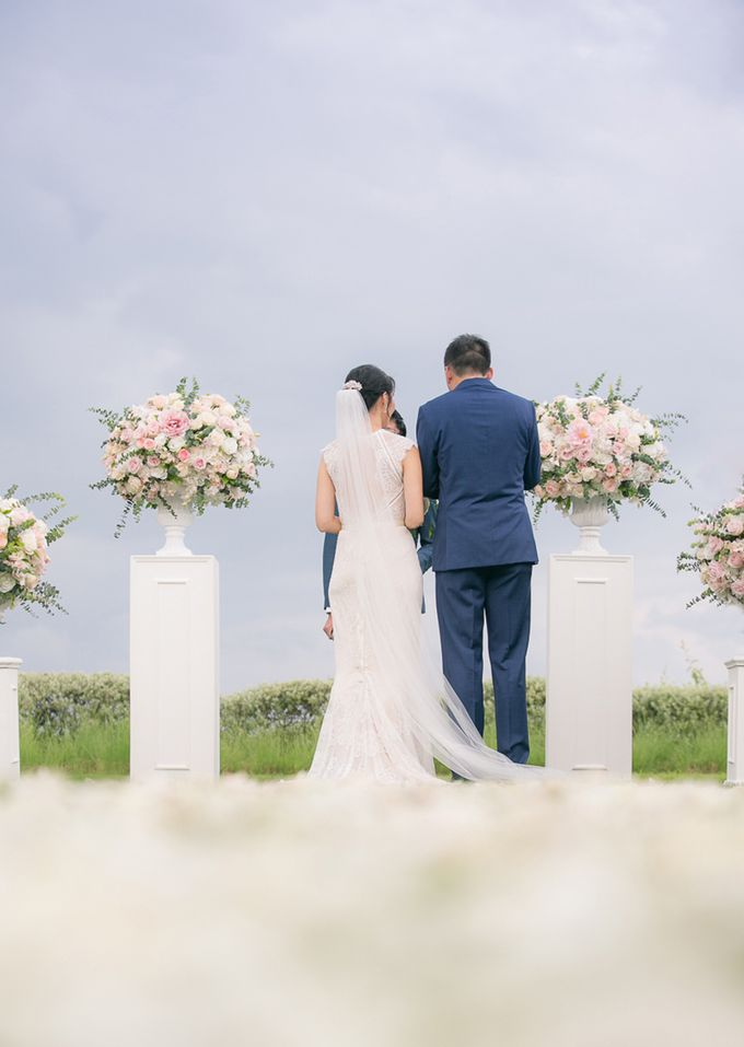 JEEYOUNG & KENN  A blooming blush pink Love Story by Wedding Boutique Phuket - 035