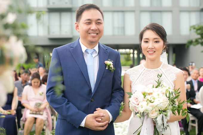 JEEYOUNG & KENN  A blooming blush pink Love Story by Wedding Boutique Phuket - 037