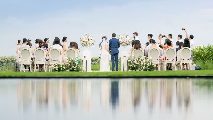 JEEYOUNG & KENN  A blooming blush pink Love Story by Wedding Boutique Phuket - 036