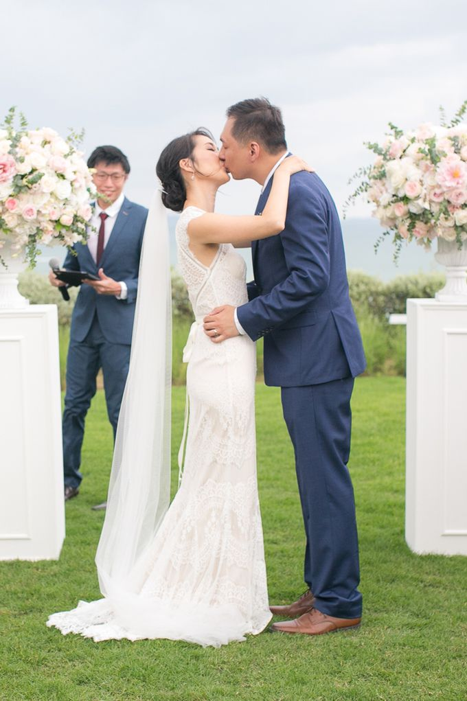 JEEYOUNG & KENN  A blooming blush pink Love Story by Wedding Boutique Phuket - 038