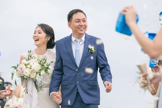 JEEYOUNG & KENN  A blooming blush pink Love Story by Wedding Boutique Phuket - 040