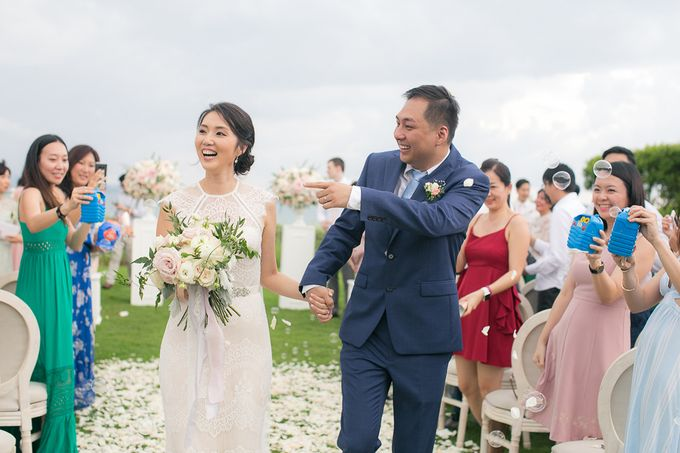 JEEYOUNG & KENN  A blooming blush pink Love Story by Wedding Boutique Phuket - 041