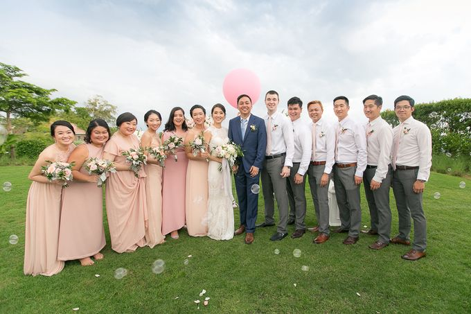 JEEYOUNG & KENN  A blooming blush pink Love Story by Wedding Boutique Phuket - 042