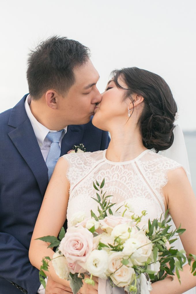 JEEYOUNG & KENN  A blooming blush pink Love Story by Wedding Boutique Phuket - 043