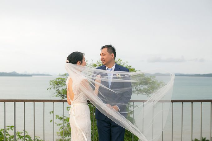 JEEYOUNG & KENN  A blooming blush pink Love Story by Wedding Boutique Phuket - 044