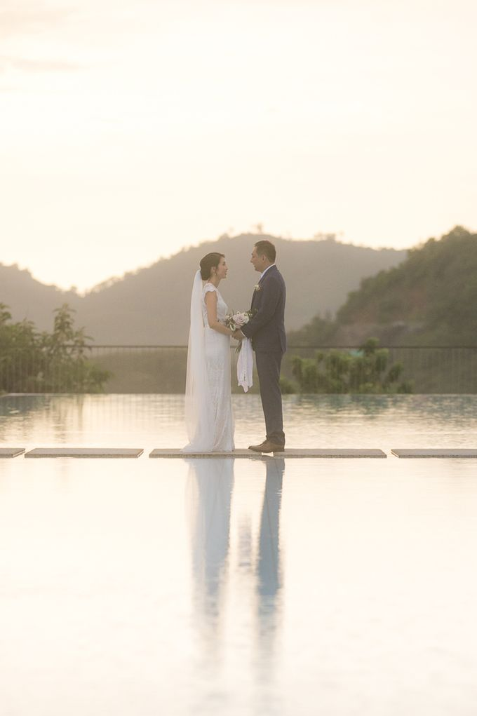 A blooming blush pink Love Story by Wedding Boutique Phuket - 023