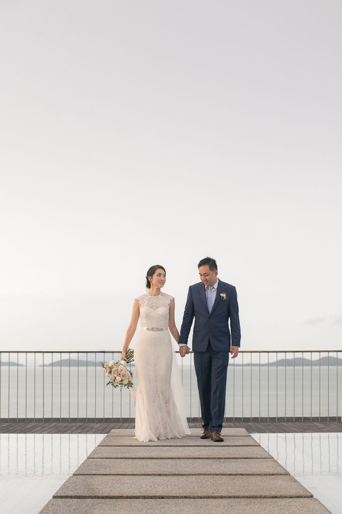 A blooming blush pink Love Story by Wedding Boutique Phuket - 024