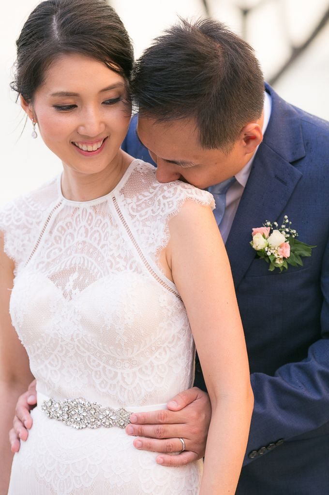 JEEYOUNG & KENN  A blooming blush pink Love Story by Wedding Boutique Phuket - 047