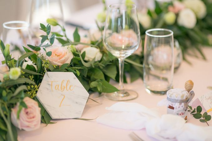 A blooming blush pink Love Story by Wedding Boutique Phuket - 027