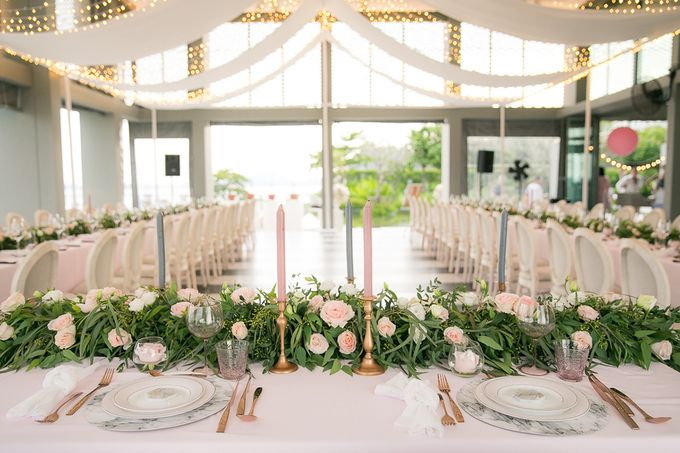 A blooming blush pink Love Story by Wedding Boutique Phuket - 029
