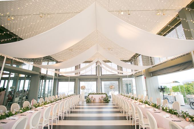 A blooming blush pink Love Story by Wedding Boutique Phuket - 031
