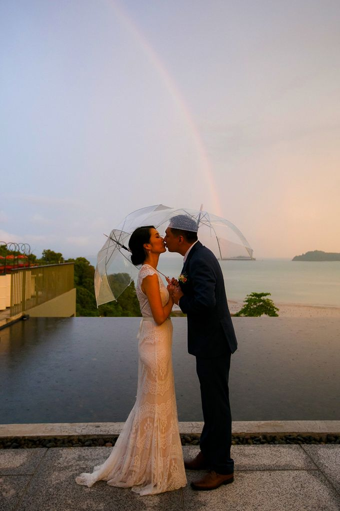 A blooming blush pink Love Story by Wedding Boutique Phuket - 032