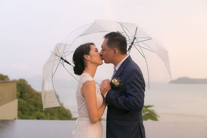 A blooming blush pink Love Story by Wedding Boutique Phuket - 033