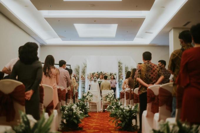 Pemberkatan New Normal James & Grace by Wedding by Renjana - 009