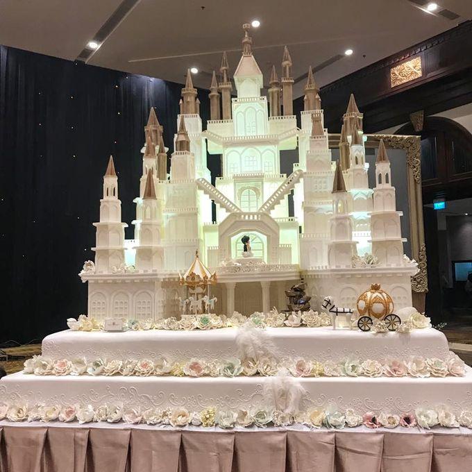 Our Wedding Cake Event by Kaylakaylie Cake & Bakery - 002
